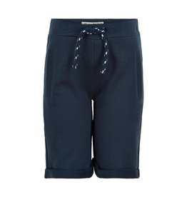 Minymo Navy Knit Drawstring Short
