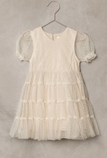 Nora Lee Cream tule Dottie Dress