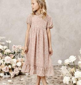 Nora Lee Rose Rayon Print Wendy dress