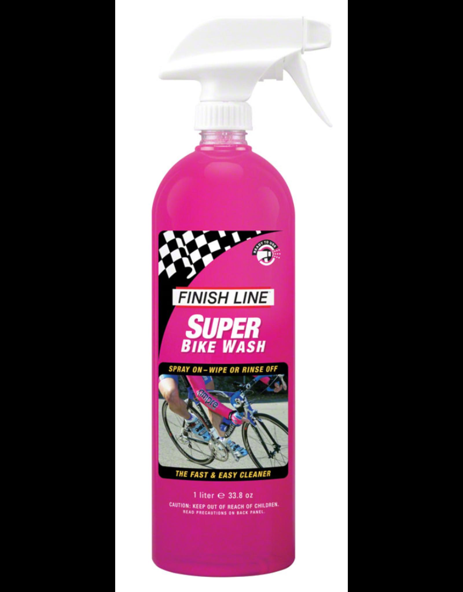 Finish Line FINISH LINE Super Bike Wash: 34 oz Hand Spray Bottle