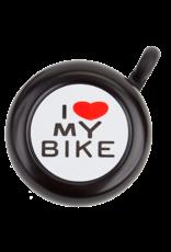 SUNLITE I LOVE MY BIKE BELL: BLACK