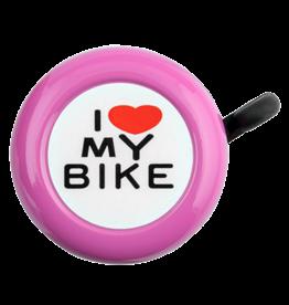 SUNLITE I LOVE MY BIKE BELL: PINK