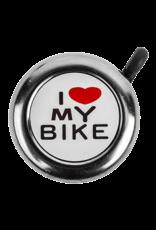 SUNLITE I LOVE MY BIKE BELL: CHROME