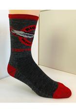 Save Our Soles OG Logo Sock Wool: Grey