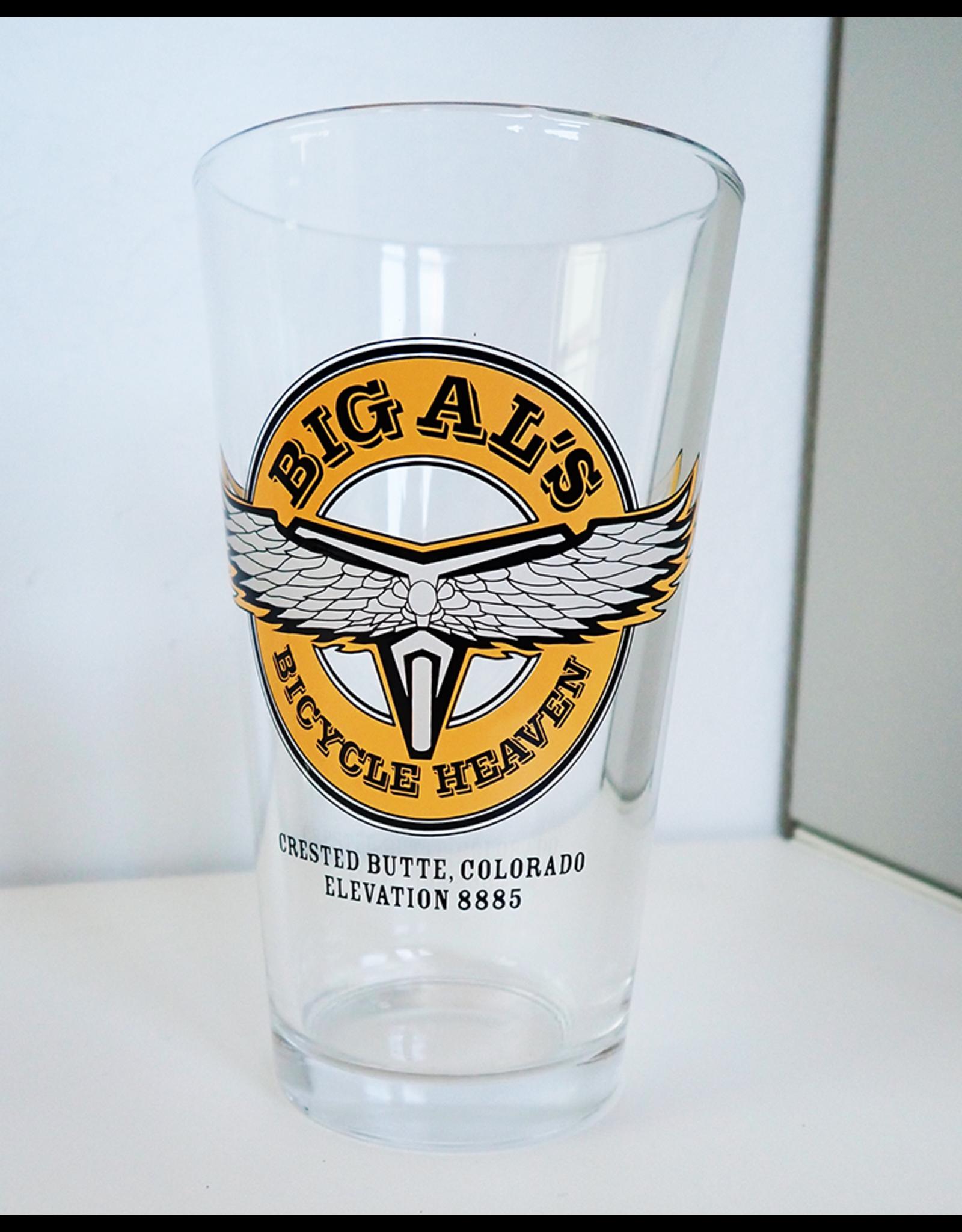 Big Al's Pint Glass Original Logo