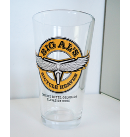 Big Al's Pint Glass Original Logo