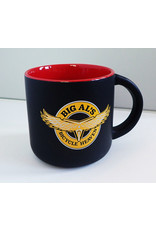 Big Al's Ceramic Mug: Black w/Red