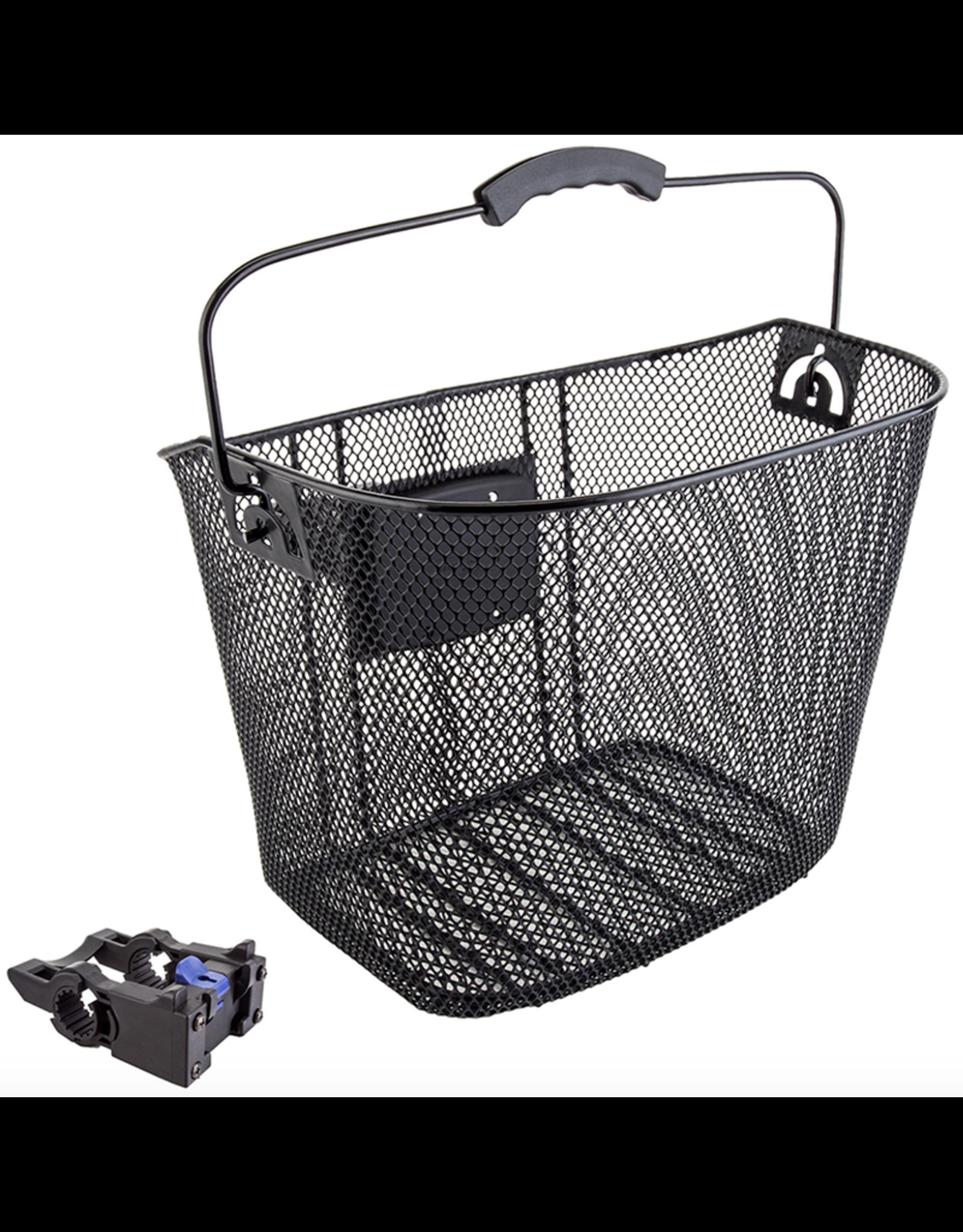 SUNLITE Mesh Front Basket: QR (25.4-31.8): Black