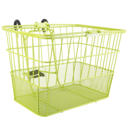 SUNLITE Front Basket: Wire Mesh Lift Off: Lime Green