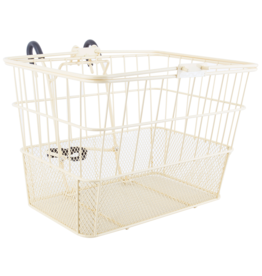 SUNLITE Front Basket: Wire Mesh Lift Off: Cream