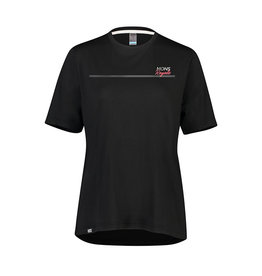 MONS ROYALE Women's Tarn Freeride Tee: Black XS