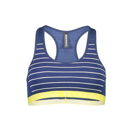 MONS ROYALE Sierra Sports Bra VLS Ink Stripe L