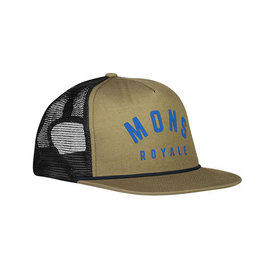 MONS ROYALE The ACL Trucker Cap olive