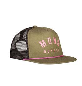 MONS ROYALE The ACL Trucker Cap Khaki Rose