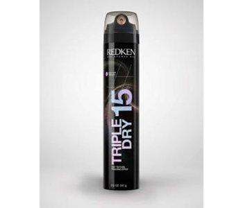 Spray net triple dry 15 noir 241g