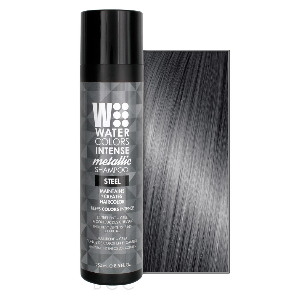 Watercolors Intense Shampoo Steel