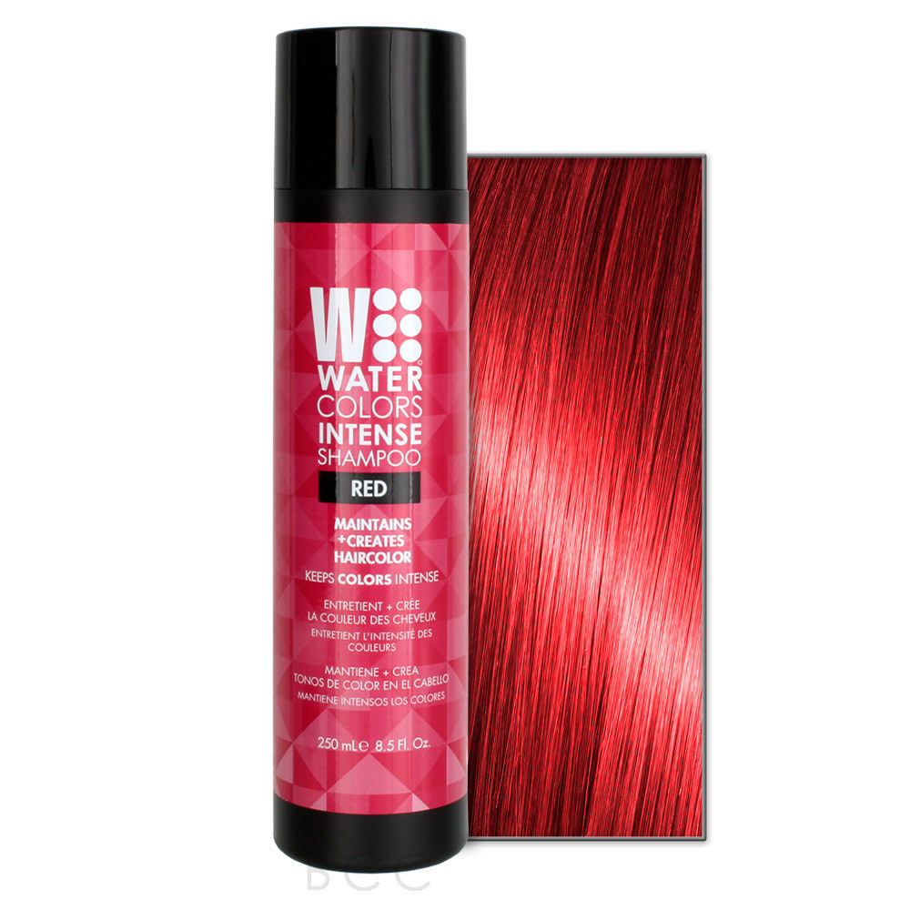 Watercolors Intense Shampooing Rouge
