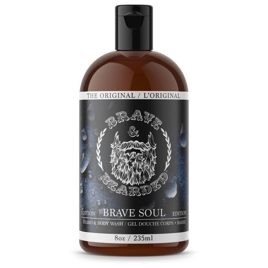 Brave & Bearded Gel douche corps et barbe 235ml