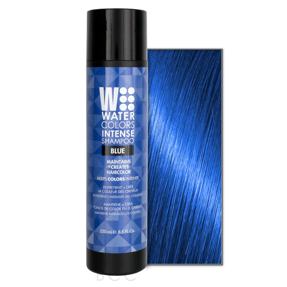 Water colors blue shampooing 250ml