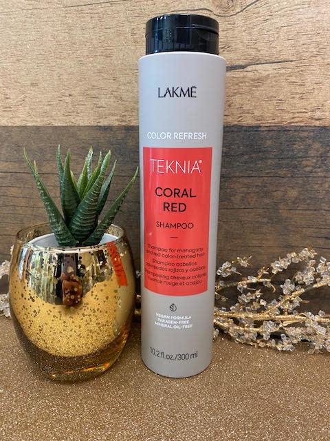 Lakmé TEKNIA coral red shampooing 300ml
