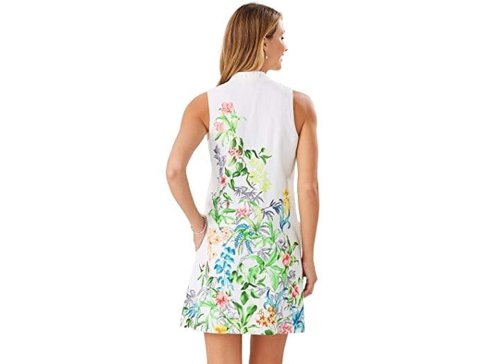 TOMMY BAHAMA Tommy Bahama Tambay Trellis Shift Sleeveless Dress