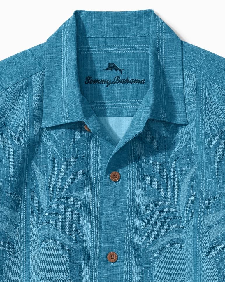 TOMMY BAHAMA Tommy Bahama Tahitian Border Silk Shirt