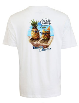 TOMMY BAHAMA Tommy Bahama You Got Hacked Tee