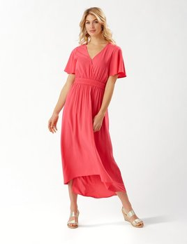 TOMMY BAHAMA Tommy Bahama Oliana S/S Hi/Low Maxi Dress