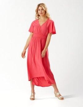 TOMMY BAHAMA Tommy Bahama Oliana S/S Hi/Low Maxi Dress