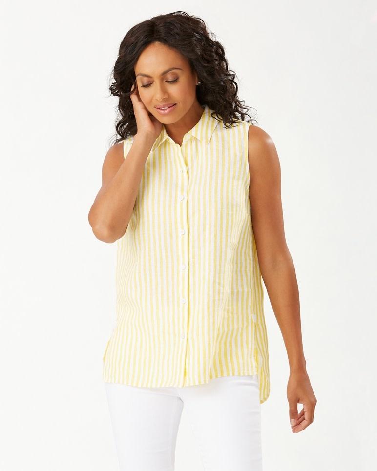 TOMMY BAHAMA Tommy Bahama Cabana Stripe S/L Shirt