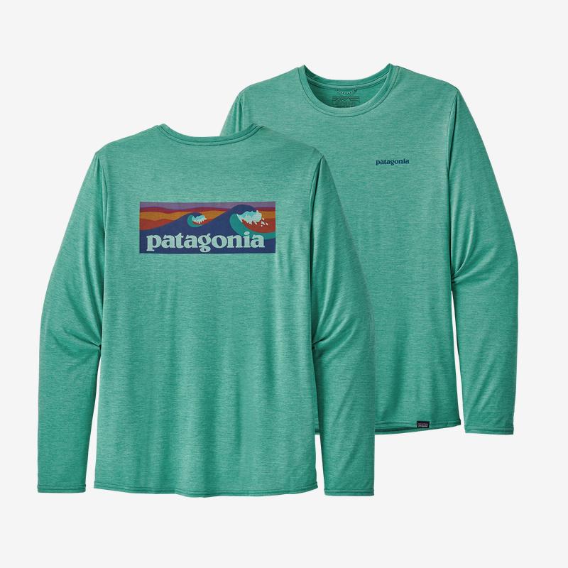 PATAGONIA Patagonia M's L/S Cap Cool Daily Graphic Shirt