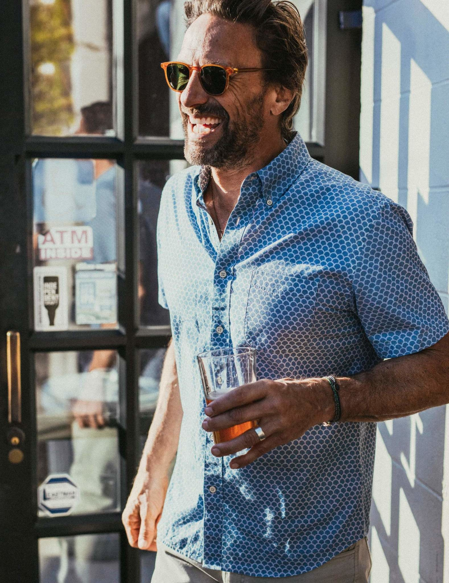 Faherty Faherty Short Sleeve Playa Shirt