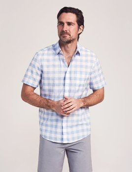 Faherty Faherty SS Cloud Blend Shirt