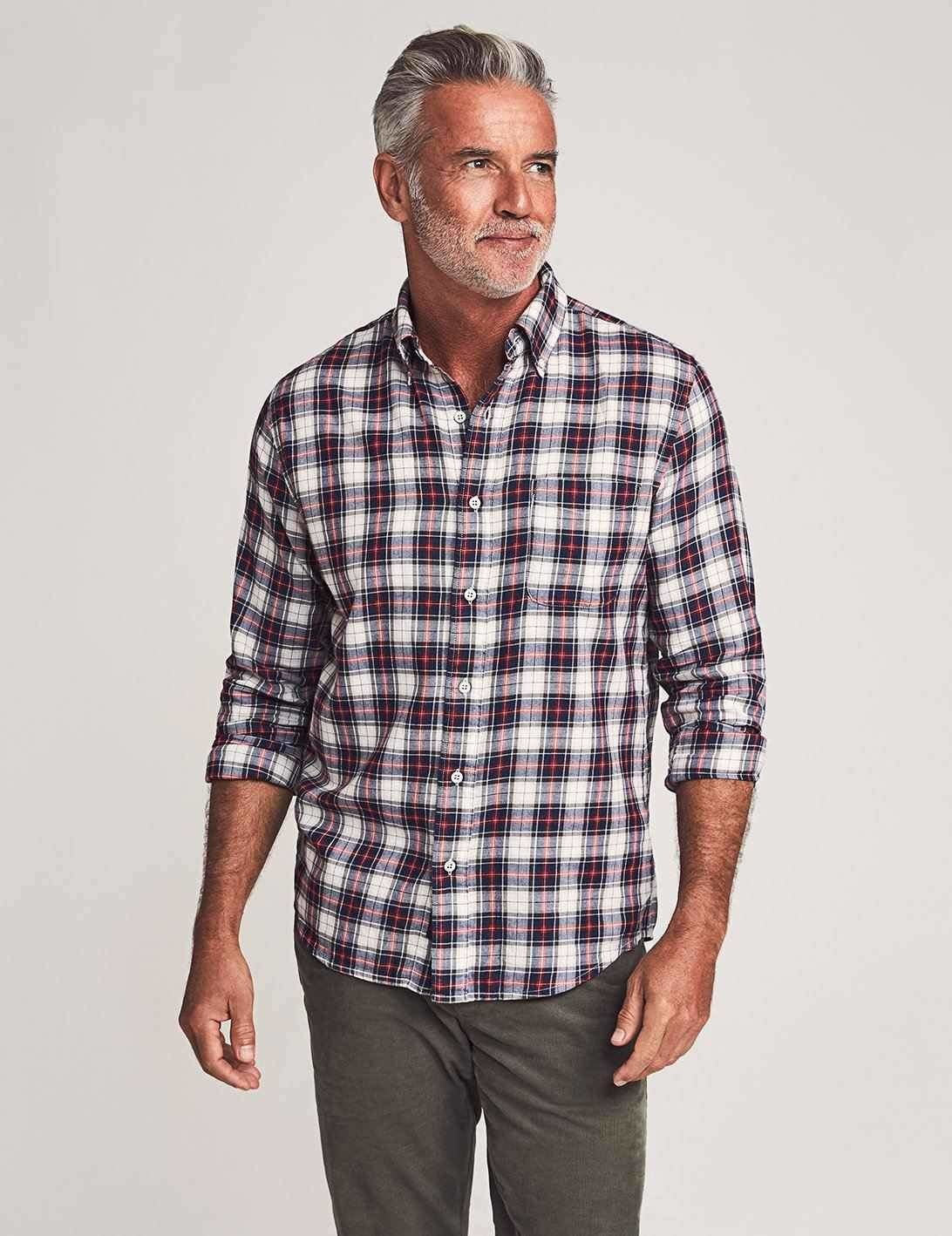 Faherty Faherty Brushed Everyday Shirt