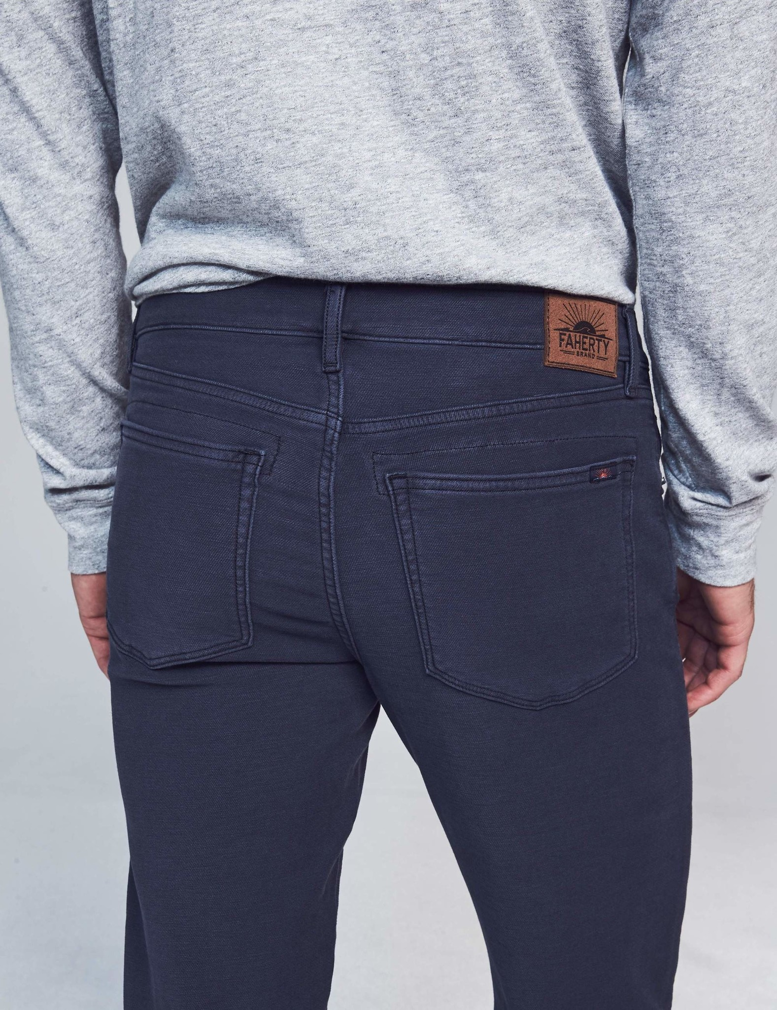 Faherty Faherty Stretch Terry 5 Pocket Pant