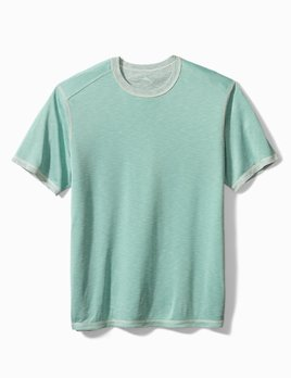 TOMMY BAHAMA Flip Tide S/S Tee - Spring Pool