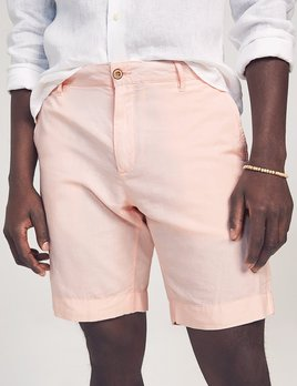 Faherty Faherty Malibu Cotton/Linen Short - Summer Pink