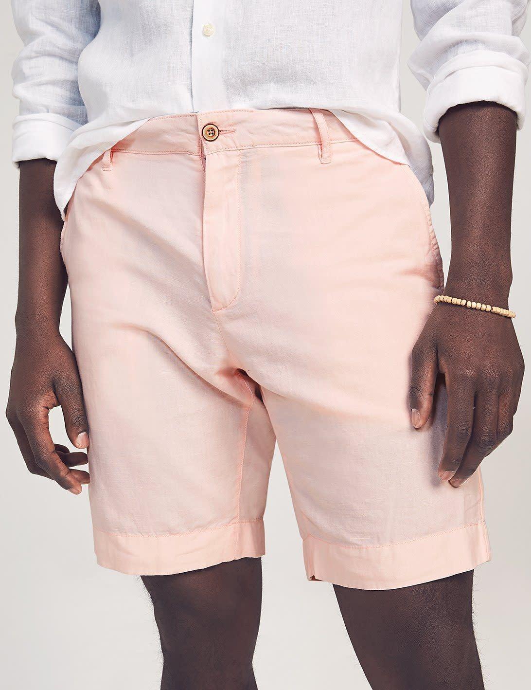 Faherty Faherty Malibu Cotton/Linen Short - Summer Pink