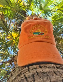 WHISPERING PINES Sanibel Island Hat - Orange Mango