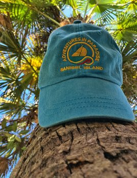 WHISPERING PINES Sanibel Island Hat - Teal