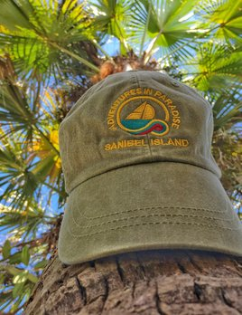 WHISPERING PINES Sanibel Island Hat - Khaki