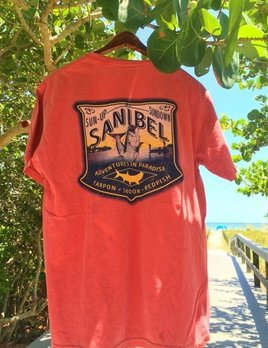High Range Sanibel Island Tshirt Tarpon Fishing