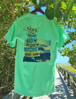 High Range Sanibel Island Tshirt Beach Signs - Reef