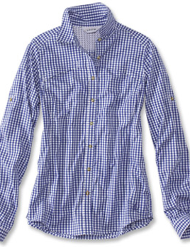 ORVIS Orvis RIVER GUIDE TECH GINGHAM SHIRT