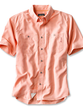 ORVIS Orvis Tech Chambray S/S Work Shirt - Multiple Colors