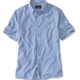 ORVIS Orvis Tech Chambray S/S Work Shirt