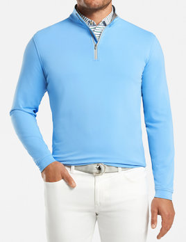 PETER MILLAR Peter Millar Perth Stretch Loop Terry 1/4 Zip
