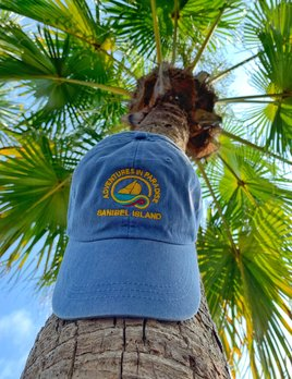 WHISPERING PINES Sanibel Island Hat - Light Blue