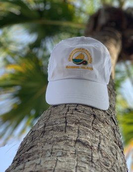 WHISPERING PINES Sanibel Island Hat - White