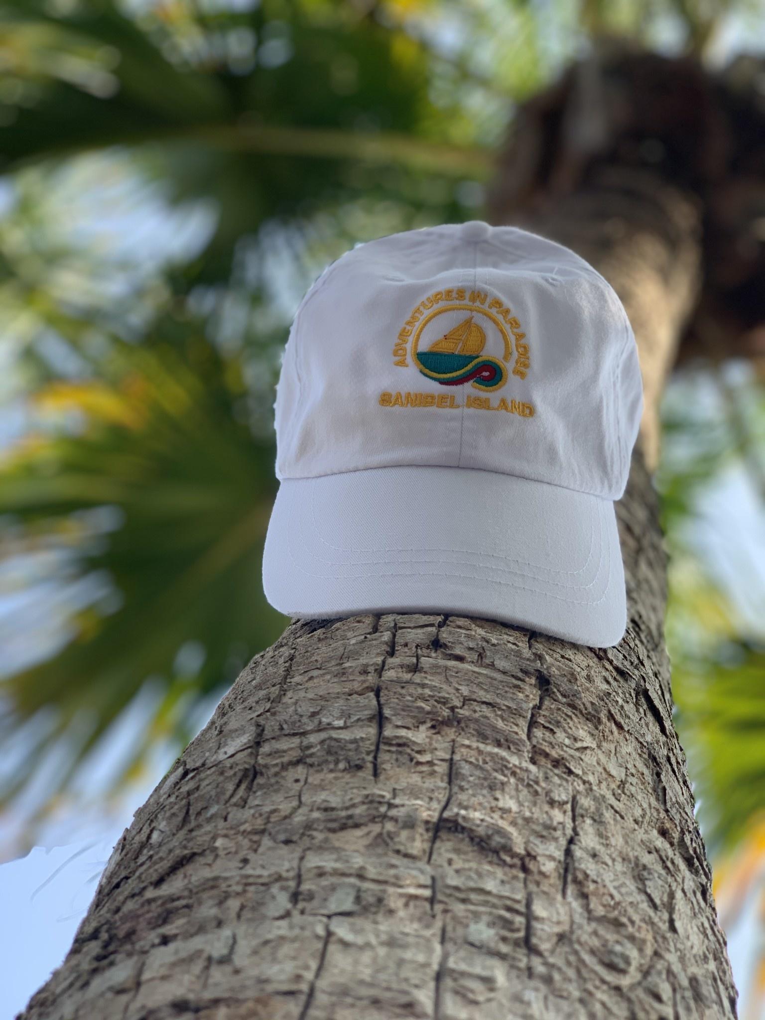 WHISPERING PINES Sanibel Island Hat - White